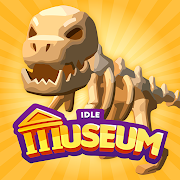 com.pixodust.games.idle.museum.tycoon.empire.art.history logo