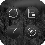 minimalist.nordic.style.icon.pack
