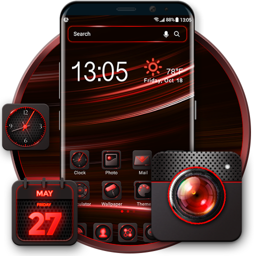 com.amber.launcher.skin.red.light.dark