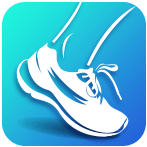 step.tracker.stepcounter.walking logo