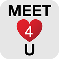 com.wildec.dating.meet4u logo
