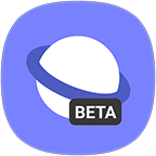 com.sec.android.app.sbrowser.beta logo